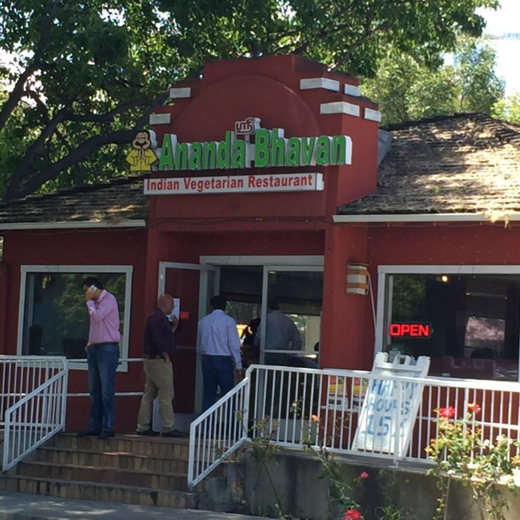 Vegan user review of Ananda Bhavan in Sunnyvale.