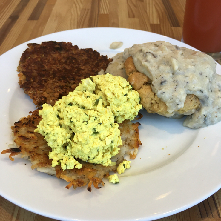 Vegan user review of A.N.D. Cafe in Portland.
