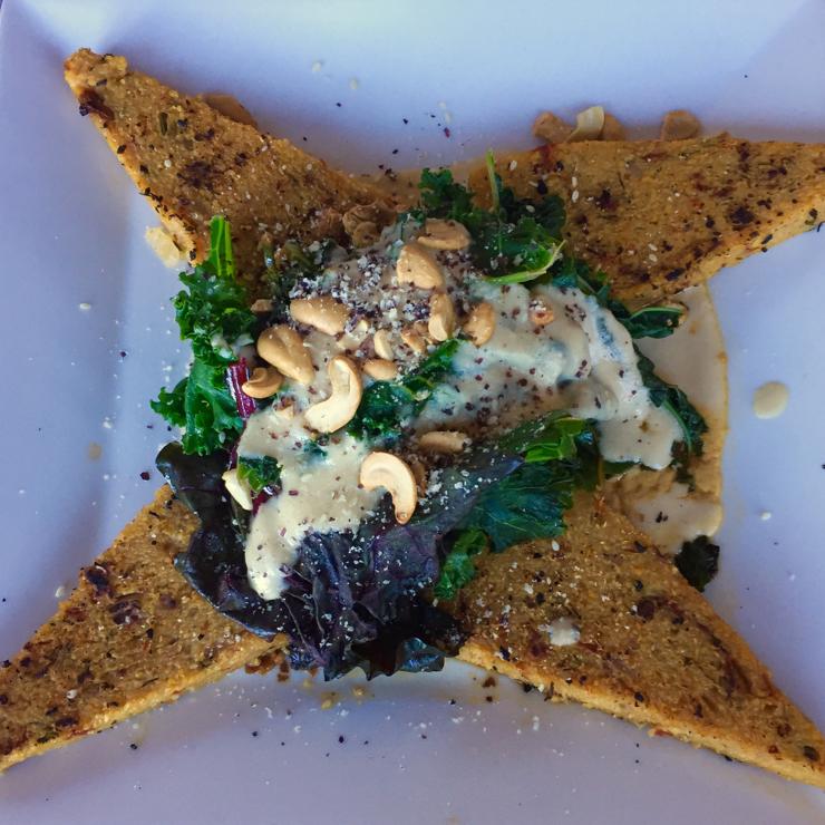 Vegan user review of Ravens' Restaurant in Mendocino.