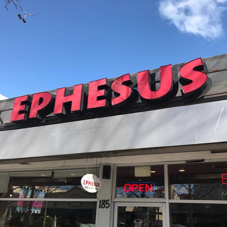 Vegan user review of Ephesus in Mountain View.