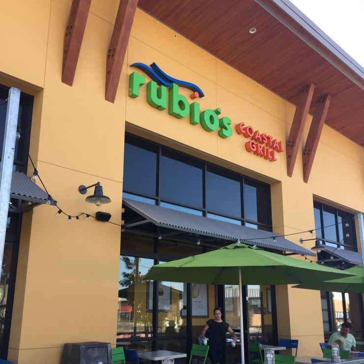 Vegan user review of Rubio's in San Jose.