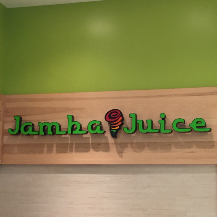 Vegan user review of Jamba Juice Clayton Valley Shopping Center in Concord.