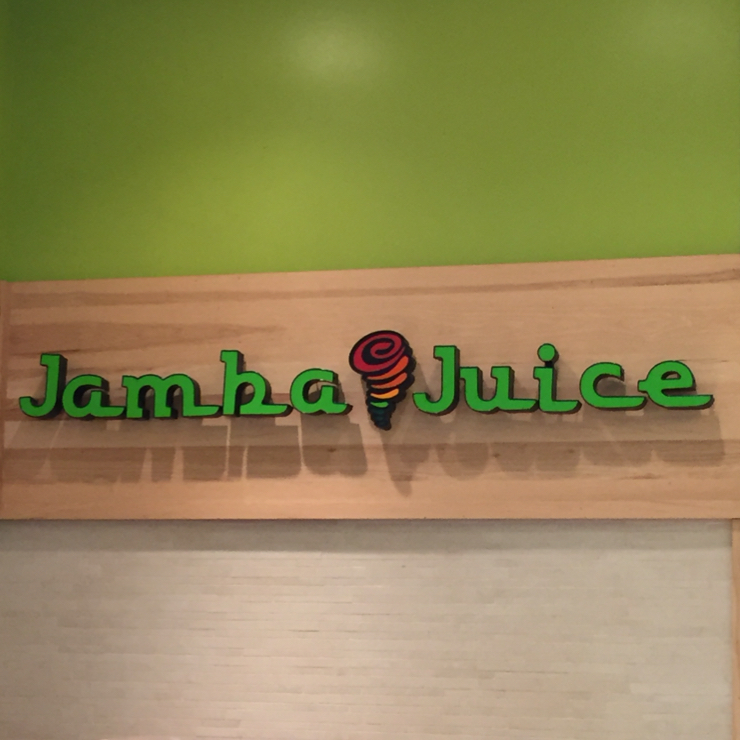 Vegan user review of Jamba Juice in San Francisco.
