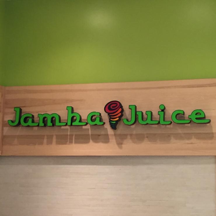 Vegan user review of Jamba Juice in San Mateo.