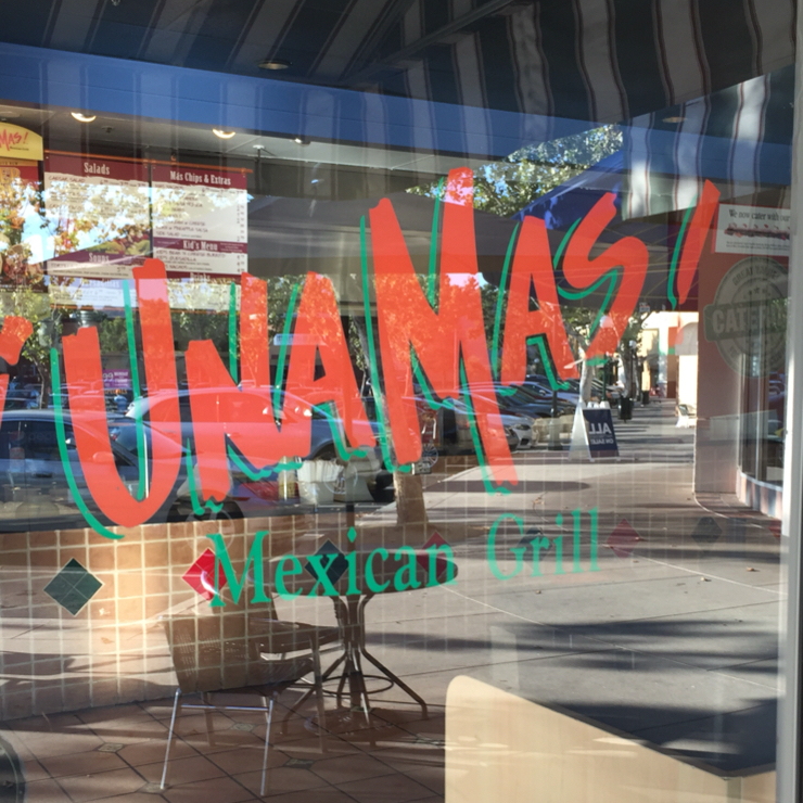 Vegan user review of Una Mas in Sunnyvale.