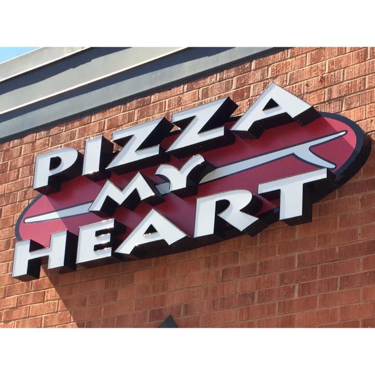 Vegan user review of Pizza My Heart in Santa Cruz.