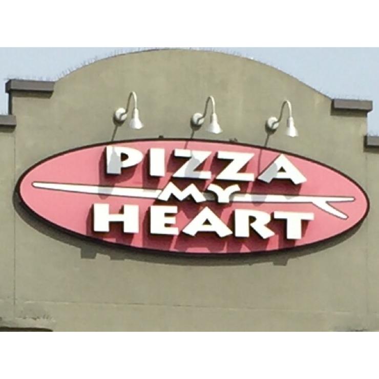 Vegan user review of Pizza My Heart in Monterey.