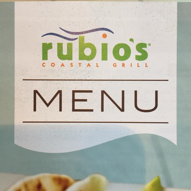 Vegan user review of Rubio's in San Francisco.