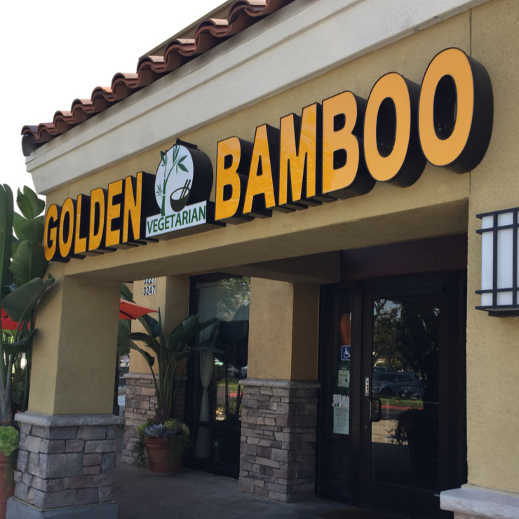 Vegan user review of Golden Bamboo Vegetarian House in San Jose.