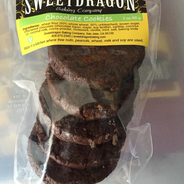 Vegan user review of Sweetdragon Baking Company in San Jose.
