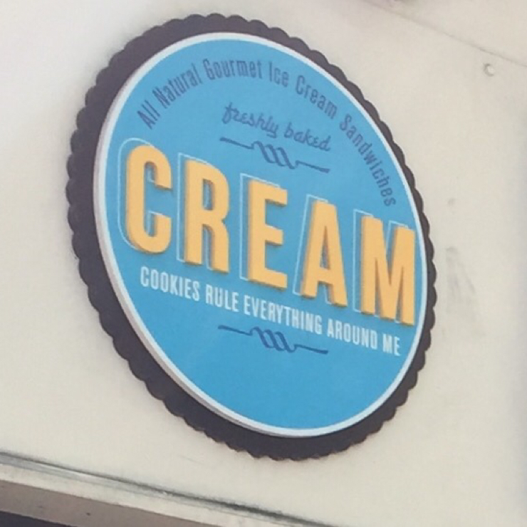 Vegan user review of CREAM in Walnut Creek.
