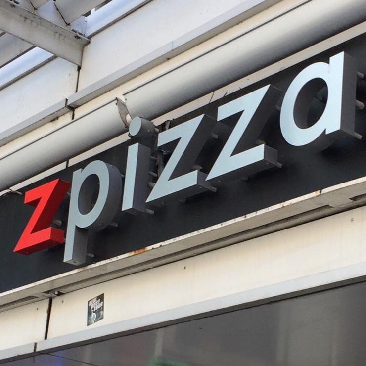 Vegan user review of zpizza in Roseville.
