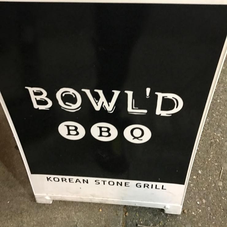 Vegan user review of Bowl'd BBQ in Alameda.