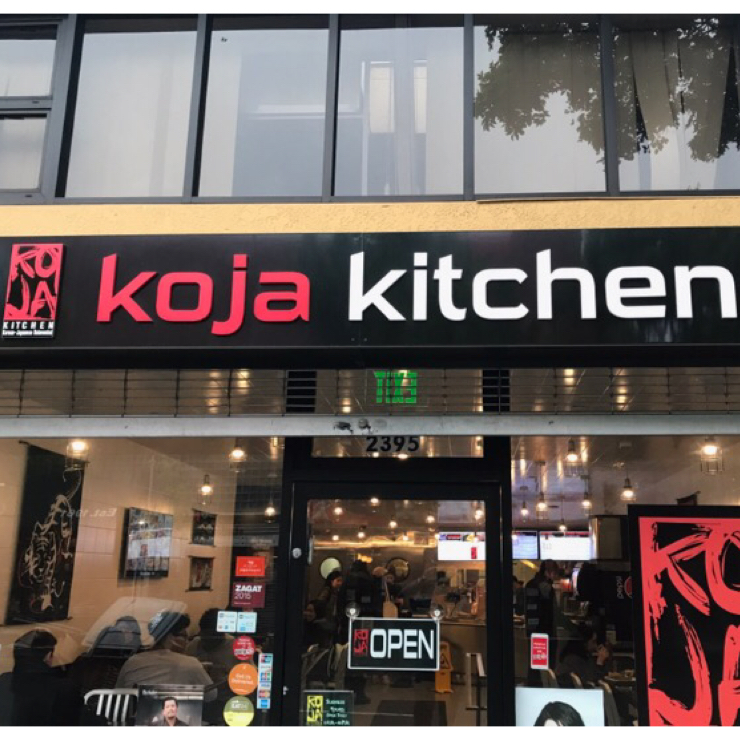 Vegan user review of KoJa Kitchen in Berkeley.