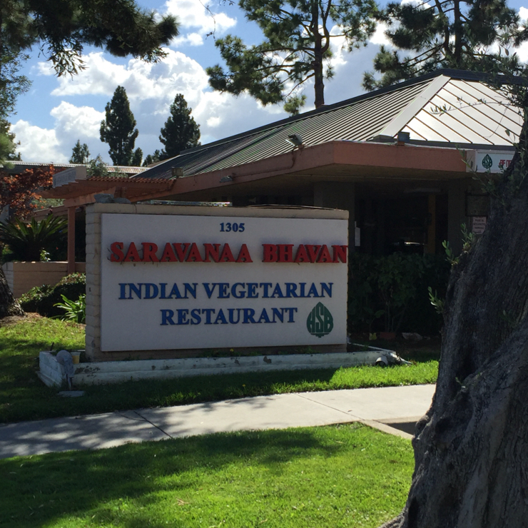 Vegan user review of Saravanaa Bhavan in Sunnyvale.