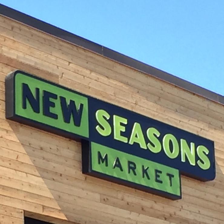 Vegan user review of New Seasons Market Evergreen in San Jose.