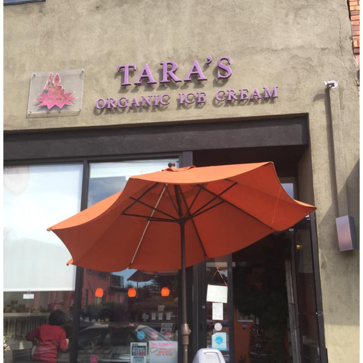 Vegan user review of Tara's Organic Ice Cream in Berkeley.