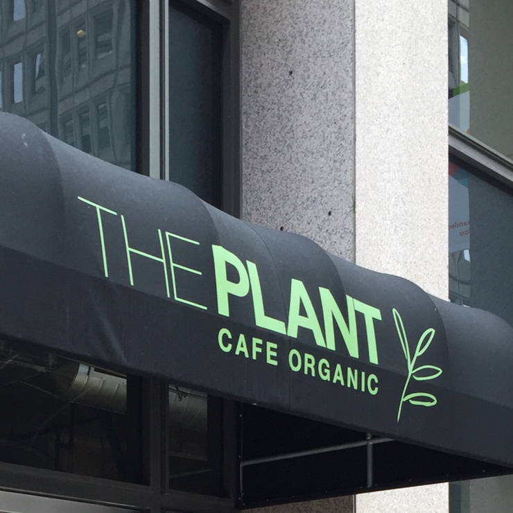 Vegan user review of The Plant Cafe Organic in San Francisco.
