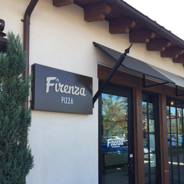 Vegan user review of Firenza Pizza in Los Gatos.