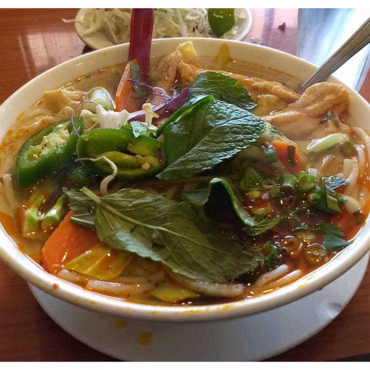 Vegan user review of Pho Lovers in Sunnyvale.