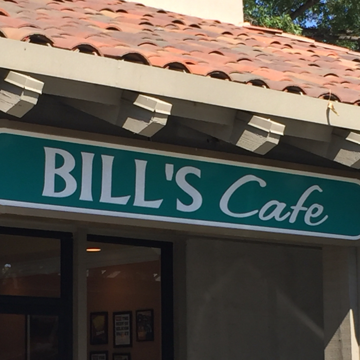 Vegan user review of Bill's Cafe in San Jose.