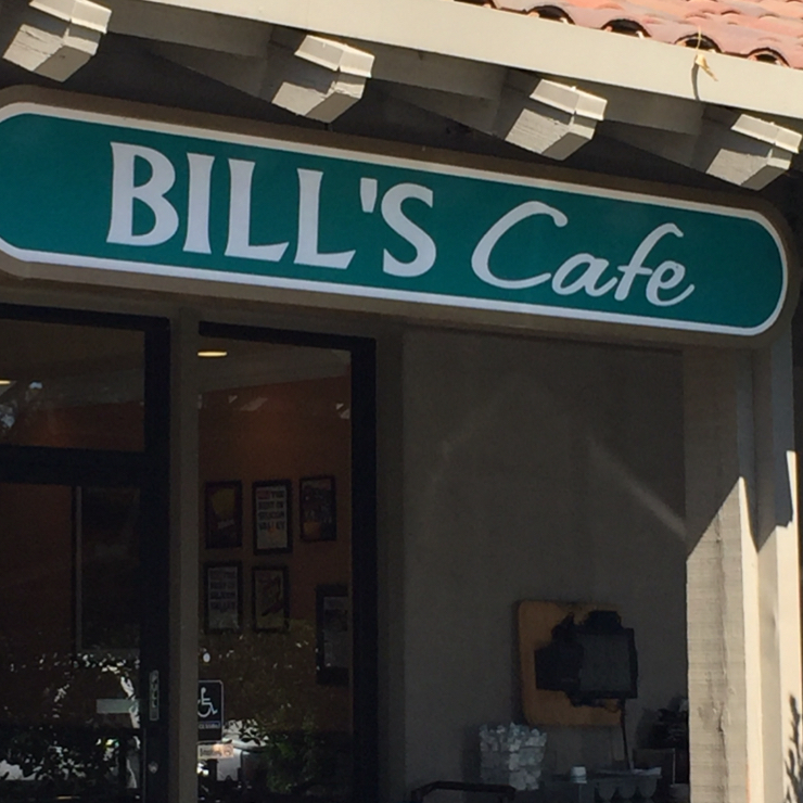 Vegan user review of Bill's Café in San Jose.