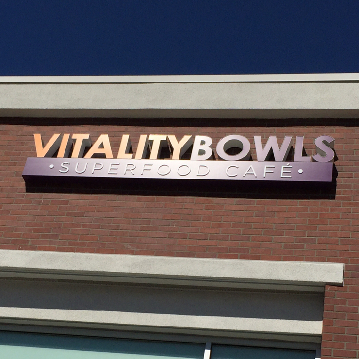 Vegan user review of Vitality Bowls in Pleasanton.