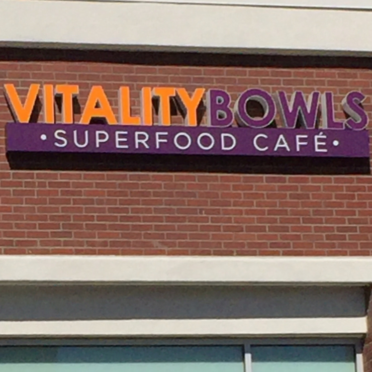 Vegan user review of Vitality Bowls in Roseville.