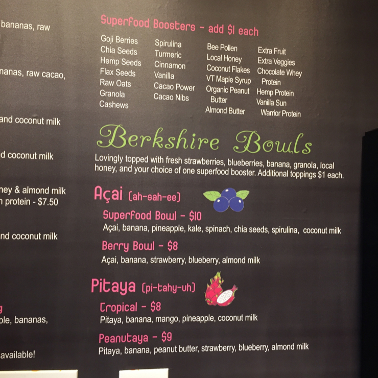Vegan user review of The Smoothie Spot in Williamstown.