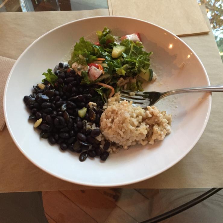 Vegan user review of Mandarava Organic Kitchen in Newburyport.