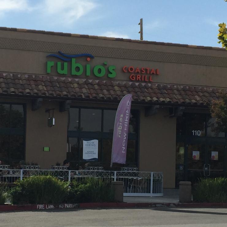 Vegan user review of Rubio's Coastal Grill in Menlo Park.