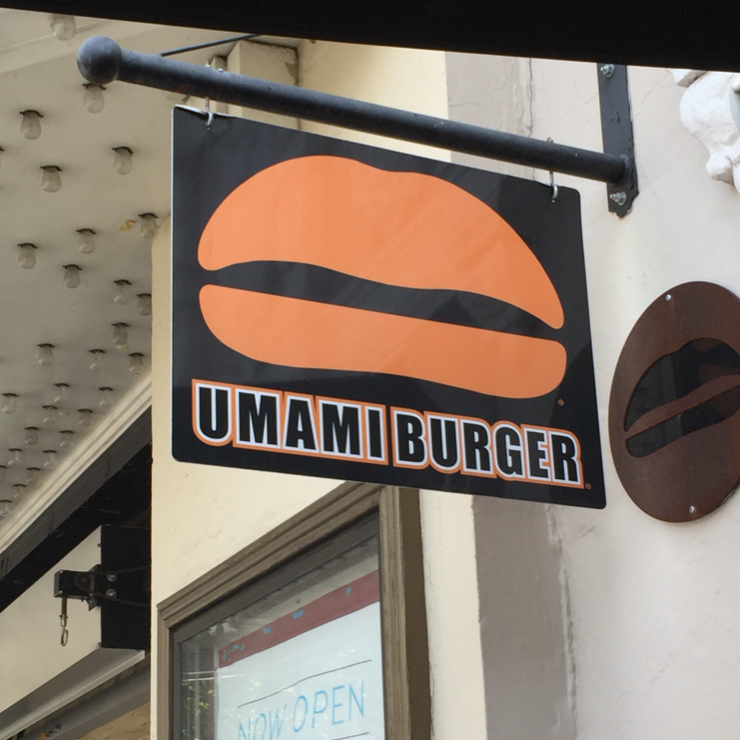 Vegan user review of Umami Burger in San Francisco.