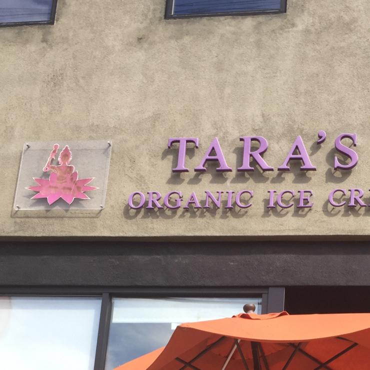 Vegan user review of Tara's Organic Ice Cream in Oakland.