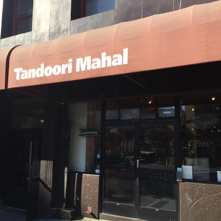 Vegan user review of Tandoori Mahal in San Francisco.