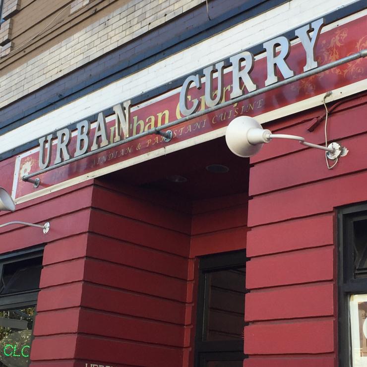 Vegan user review of Urban Curry Restaurant in San Francisco.