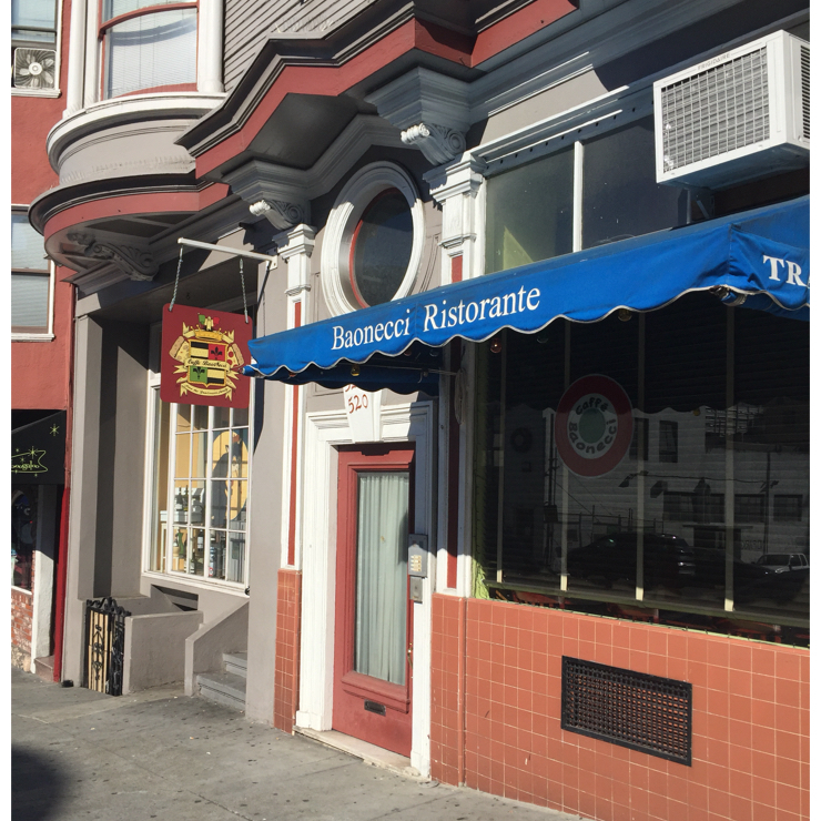 Vegan user review of Baonecci Ristorante in San Francisco.