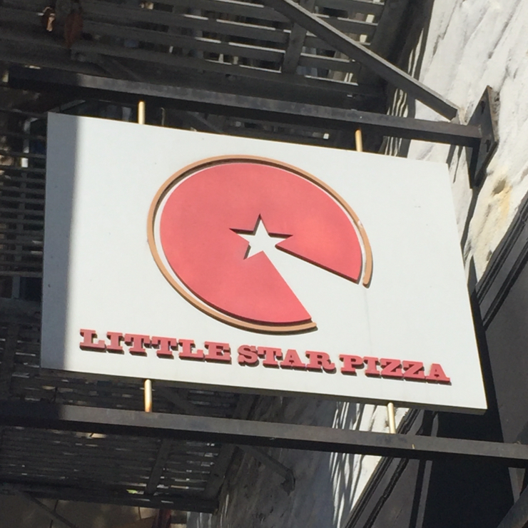 Vegan user review of Little Star Pizza in Albany.