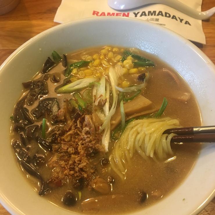 Vegan user review of Ramen Yamadaya in San Francisco.