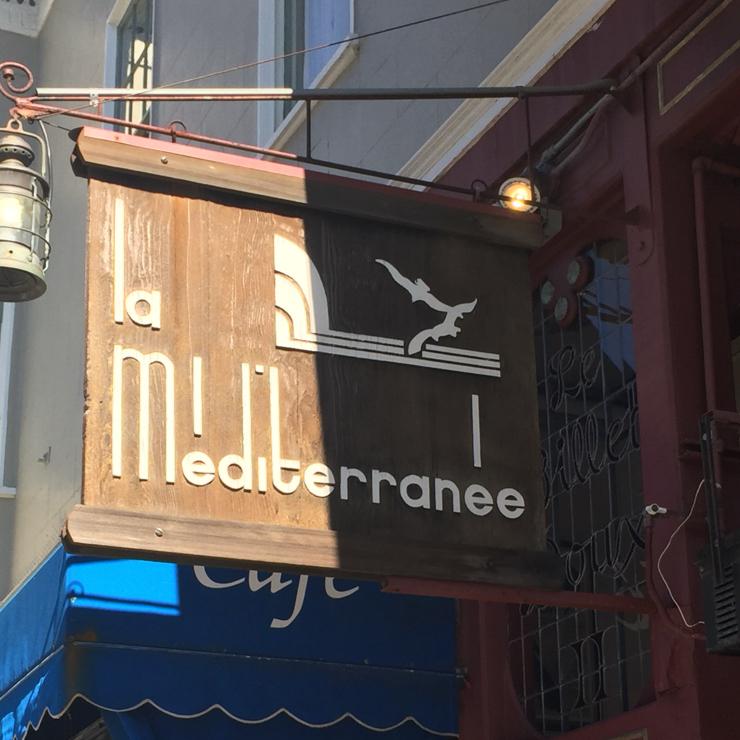 Vegan user review of La Méditerranée in Berkeley.