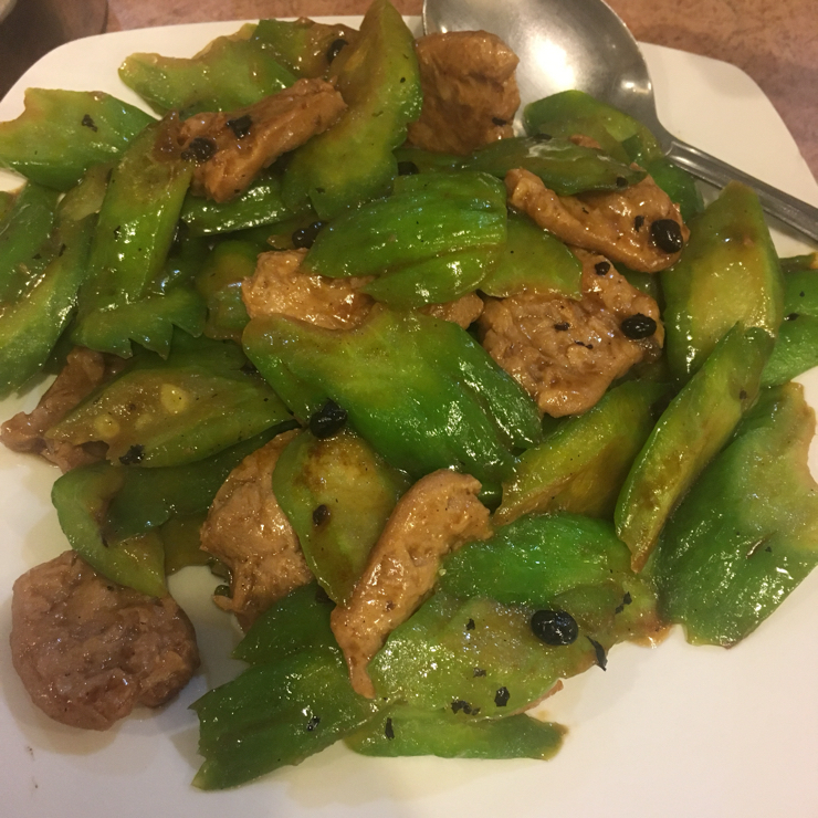 Vegan user review of Veggie Lee in Hayward. The beef tasted like tofu skin but nevertheless the dish was fantastic