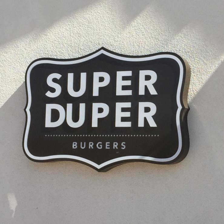 Vegan user review of Super Duper Burgers in San Francisco.