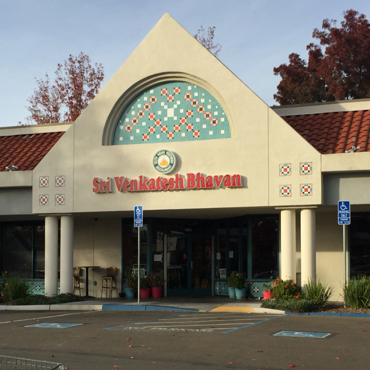 Vegan user review of Sri Venkatesh Bhavan in Pleasanton.