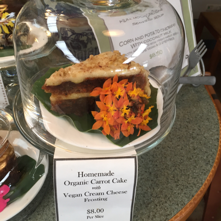 Vegan user review of Cafe Ono in Volcano.