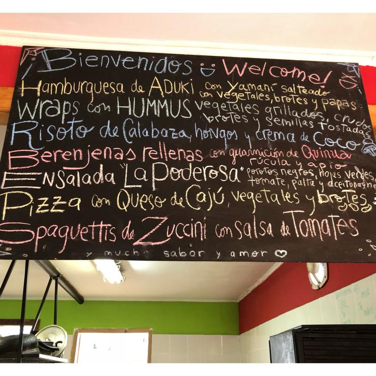 Vegan user review of Curcuma in El Chalten.