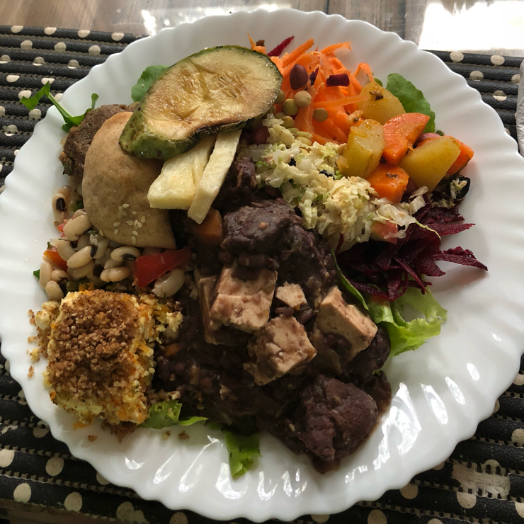 Vegan user review of Restaurante Vegetariano Tempeh in Rio de Janeiro.