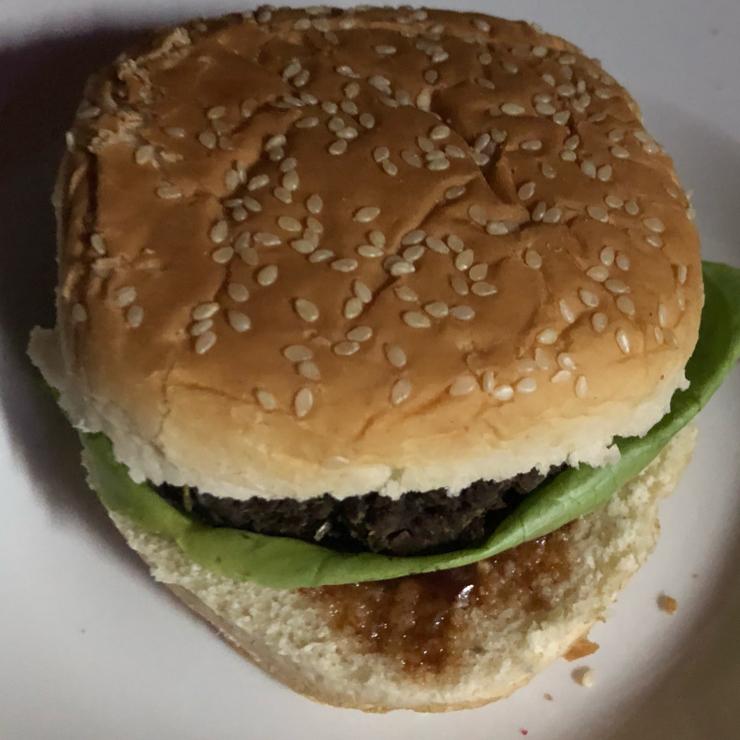 Vegan user review of Las Vegans in Rio de Janeiro. Soy burger