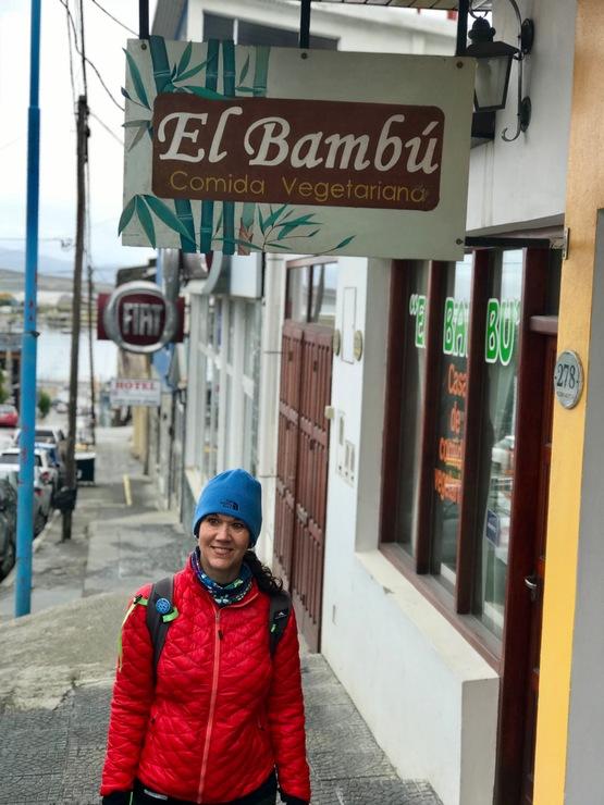 Vegan user review of El Bambu in Ushuaia.