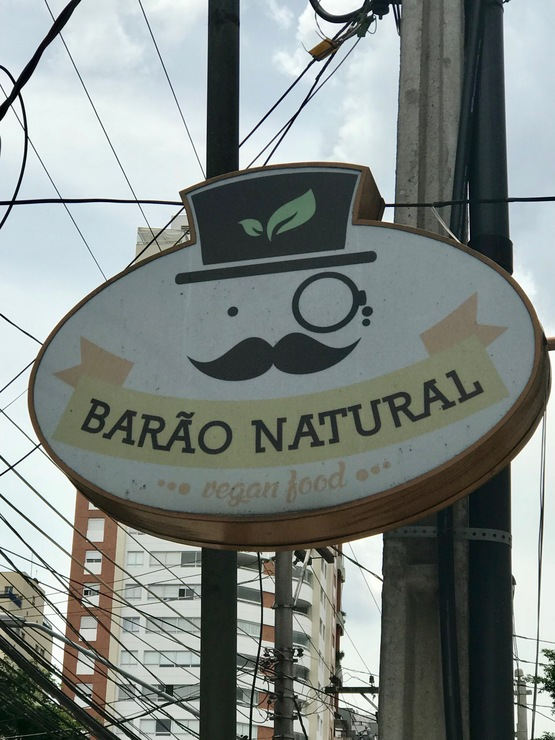Vegan user review of Barao Natural - B4 in São Paulo.