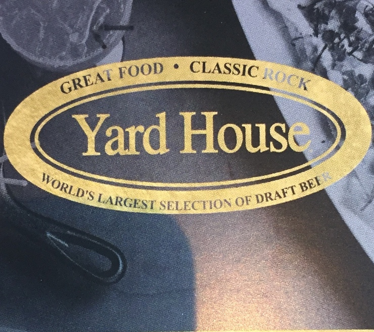Vegan user review of Yard House in Greenville.