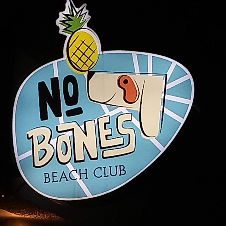 Vegan user review of No Bones Beach Club in Portland.